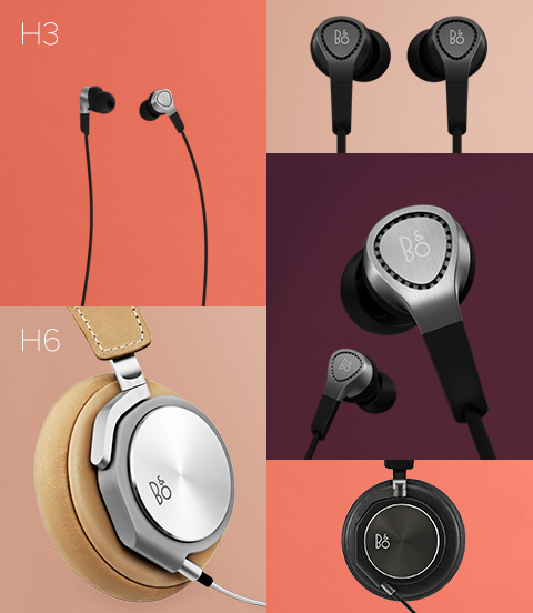 BeoPlay H3 и H6