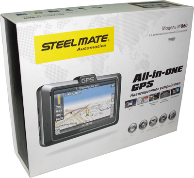 Steel mate All-In-One 860