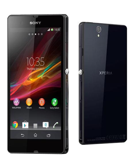 Водонепроницаемый телефон Sony Xperia Z