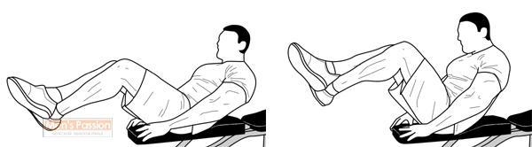 Упражнение на скамье