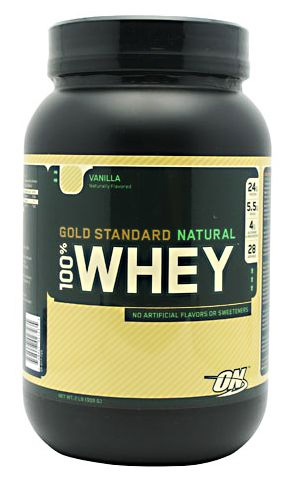 100% Whey Gold Standart Natural