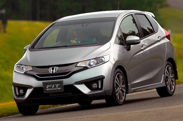 Обновленный Honda Jazz (Fit) 2014 года