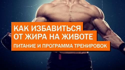 Как избавиться от жира на животе | Питание | Программа тренировок