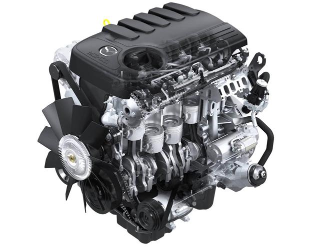 Дизельный двигатель Mazda BT-50