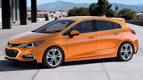 Chevrolet подготовил Cruze 2 хэтчбек