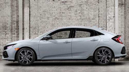 Представлены фотографии нового Honda Civic
