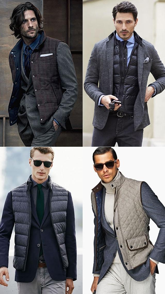 Сочетание: Жилет и пиджак