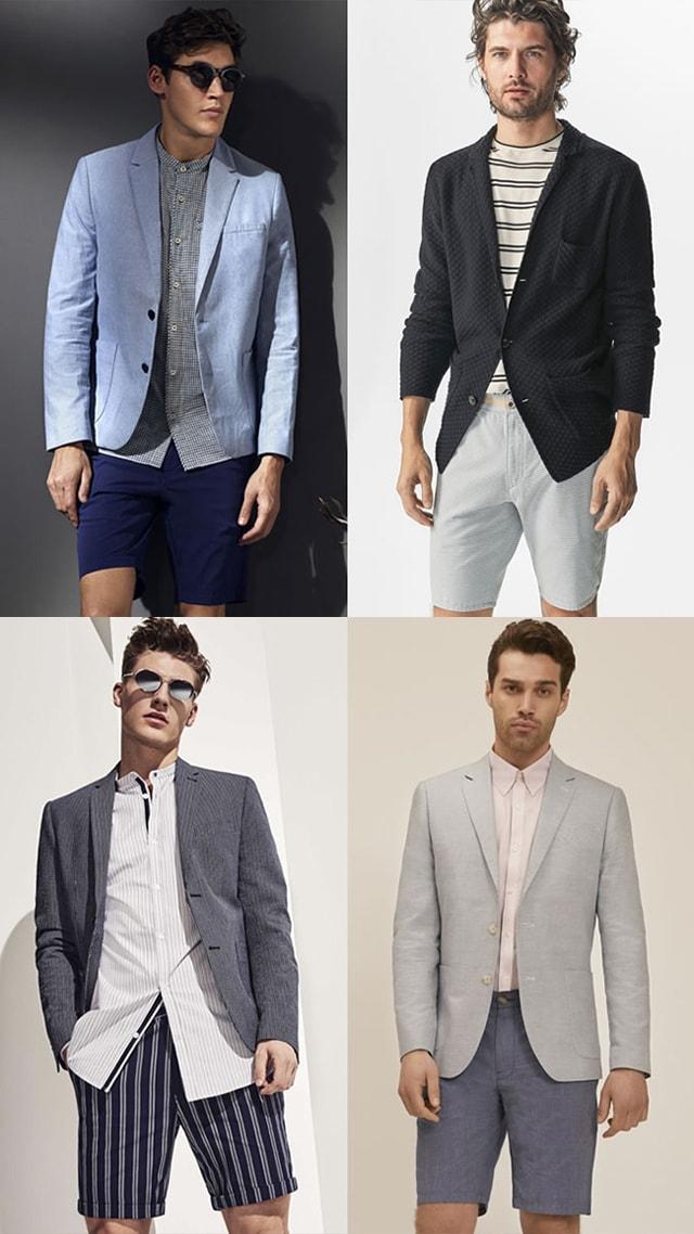 Комбинация: Пиджак и шорты